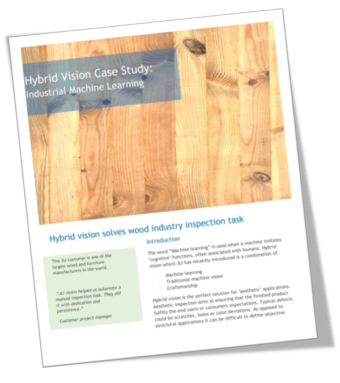 Case Story: Machine Learning in the Wood industry