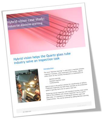 Case Story: Machine Learning in the glass industry